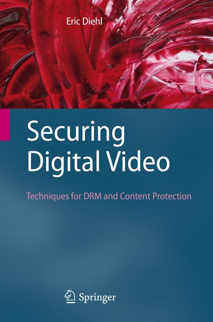 Cover of 'Securing Digital Video'