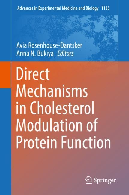 Cover of 'Direct Mechanisms in Cholesterol Modulation of Protein Function'