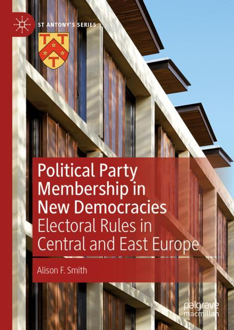 Cover of 'Political Party Membership in New Democracies'