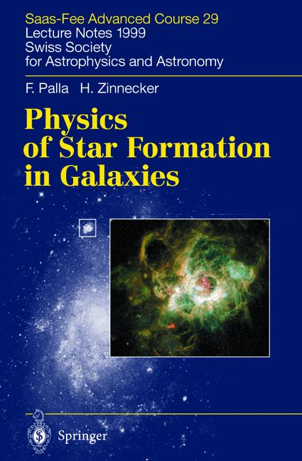 Cover of 'Physics of Star Formation in Galaxies'