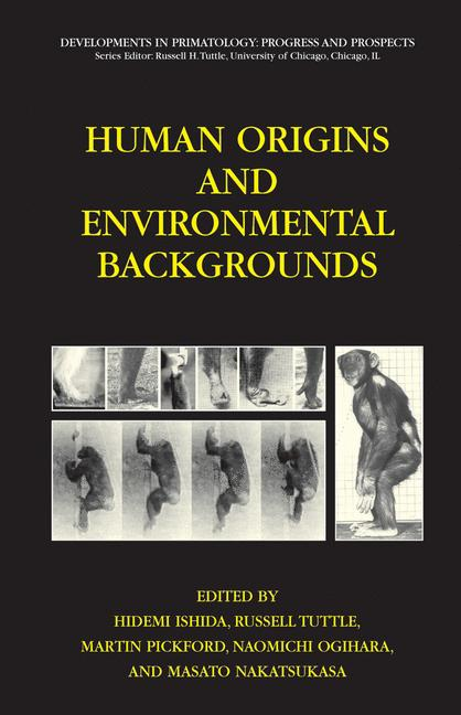Cover of 'Human Origins and Environmental Backgrounds'