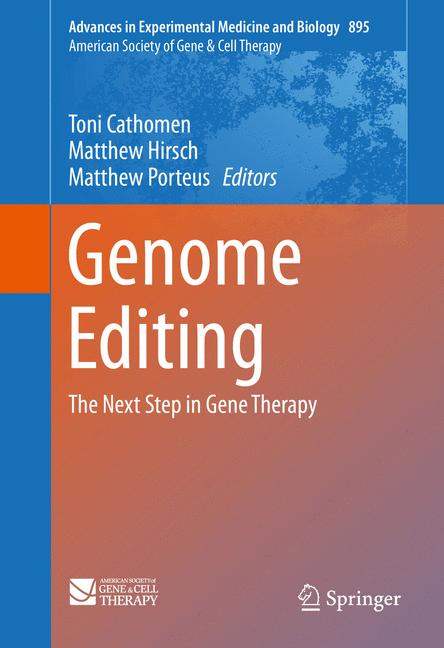 Cover of 'Genome Editing'