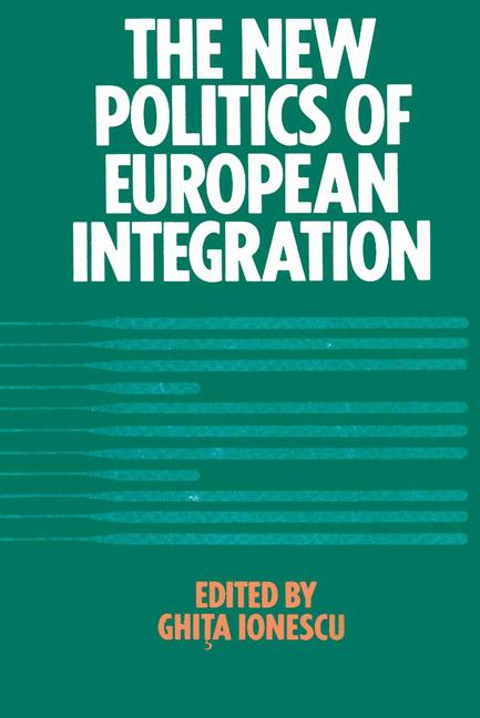 Cover of 'New Politics of European Integration'