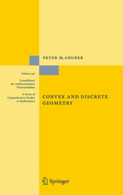 Cover of 'Convex and discrete geometry'