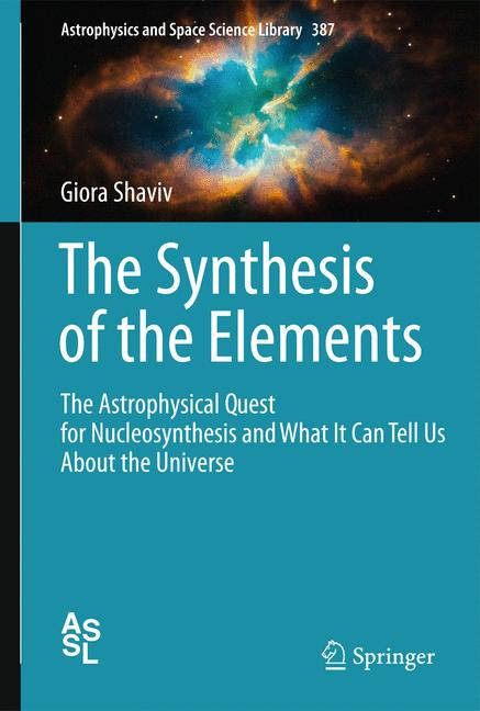 Cover of 'The Synthesis of the Elements'