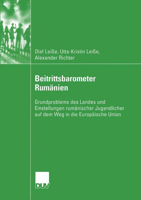 Cover of 'Beitrittsbarometer Rumänien'