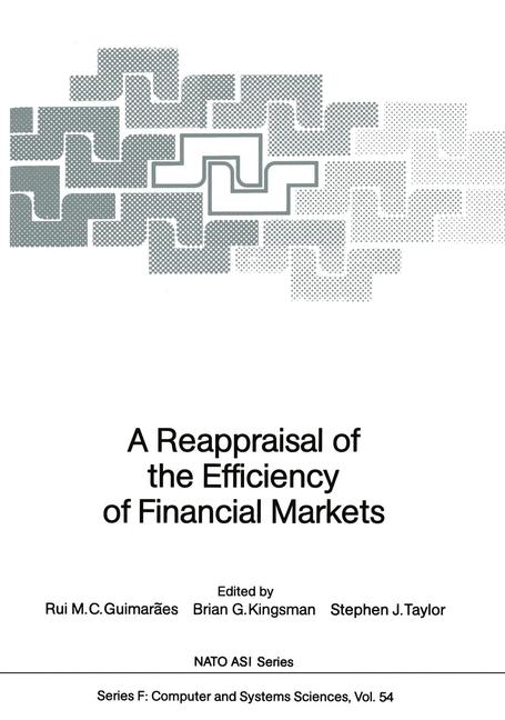 Cover of 'A Reappraisal of the Efficiency of Financial Markets'