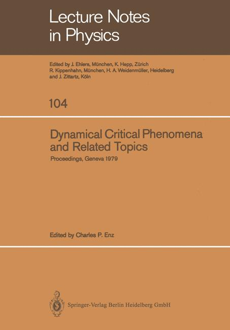 Cover of 'Dynamical Critical Phenomena and Related Topics'