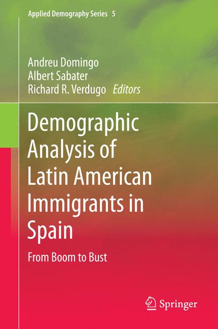 Cover of 'Demographic Analysis of Latin American Immigrants in Spain'