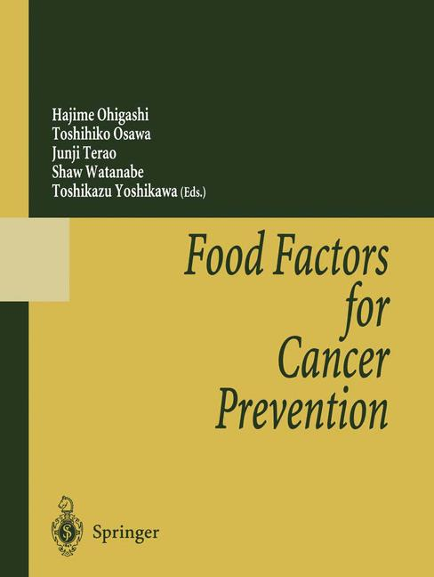 Cover of 'Food Factors for Cancer Prevention'