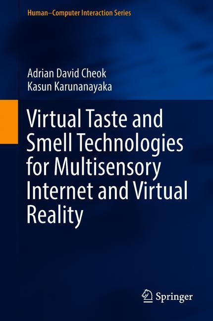 Cover of 'Virtual Taste and Smell Technologies for Multisensory Internet and Virtual Reality'