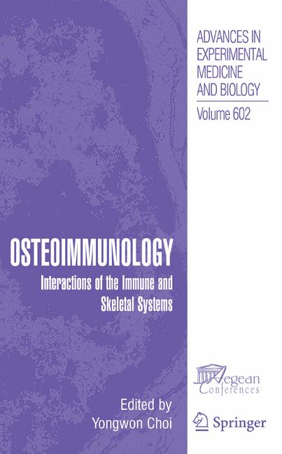 Cover of 'Osteoimmunology'