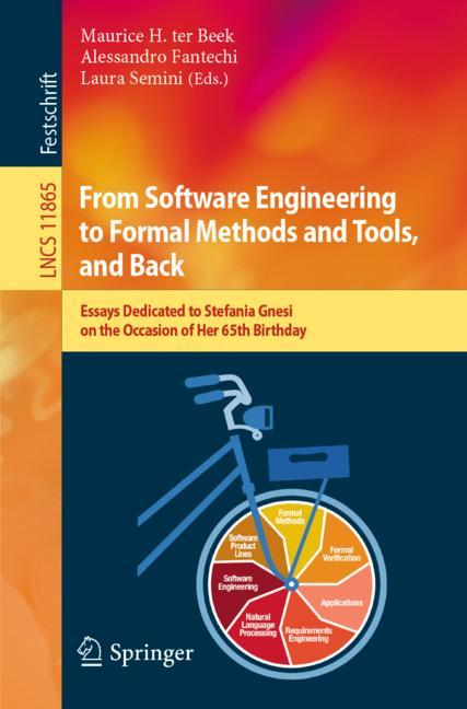 Cover of 'From Software Engineering to Formal Methods and Tools, and Back'