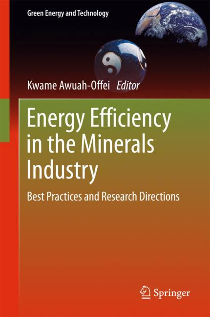 Cover of 'Energy Efficiency in the Minerals Industry'