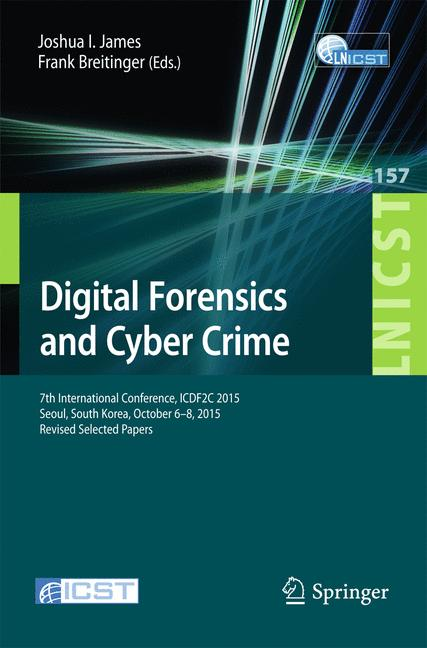 Cover of 'Digital Forensics and Cyber Crime'