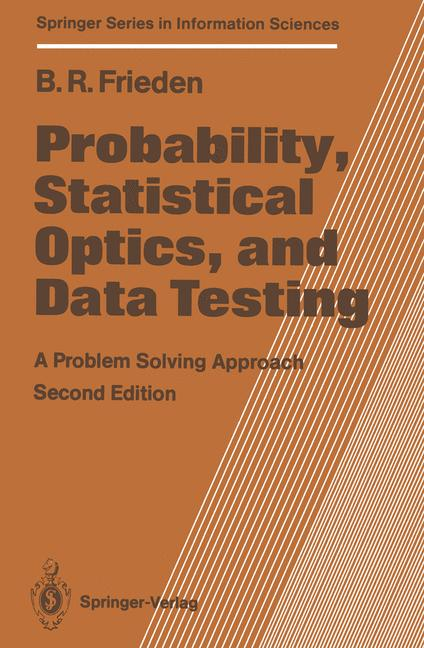 Cover of 'Probability, Statistical Optics, and Data Testing'