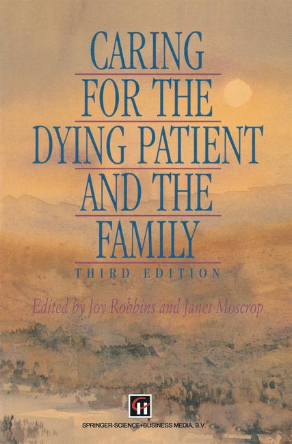Cover of 'Caring for the Dying Patient and the Family'