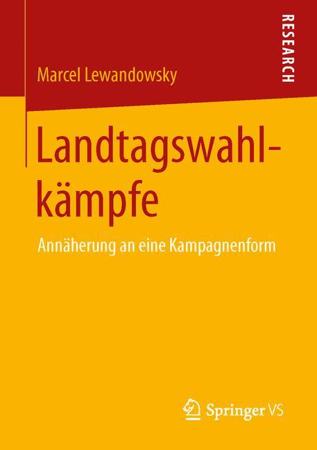 Cover of 'Landtagswahlkämpfe'