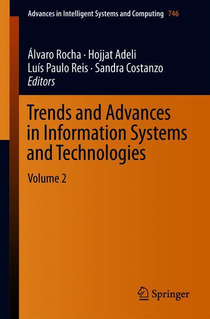 Cover of 'Trends and Advances in Information Systems and Technologies'