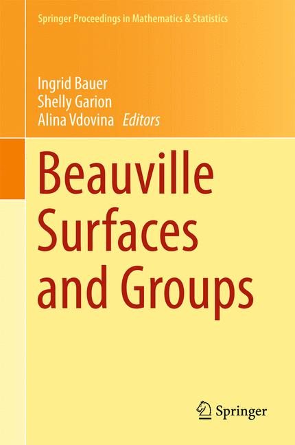 Cover of 'Beauville Surfaces and Groups'