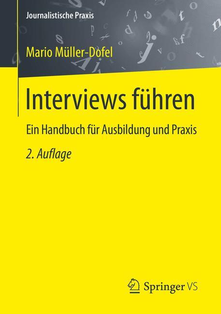 Cover of 'Interviews führen'