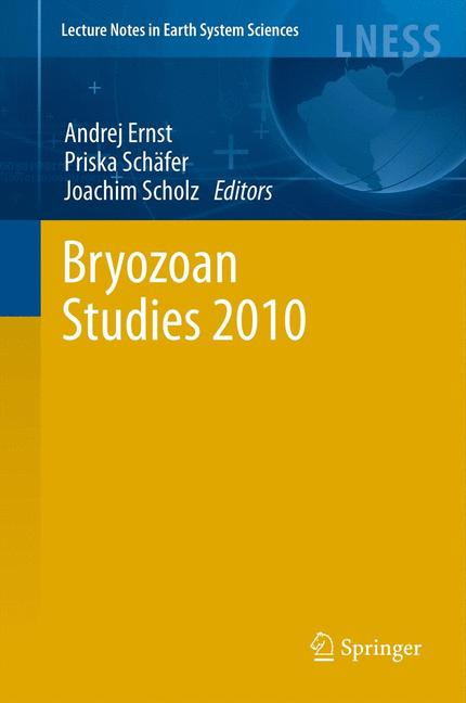 Cover of 'Bryozoan Studies 2010'