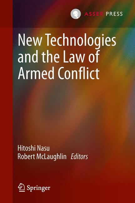 Cover of 'New technologies and the law of armed conflict'