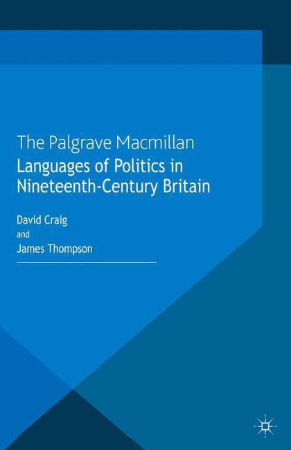 Cover of 'Languages of Politics in Nineteenth-Century Britain'