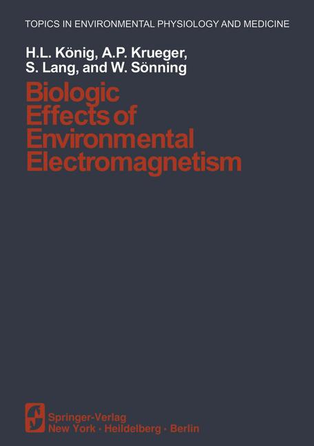 Cover of 'Biologic Effects of Environmental Electromagnetism'