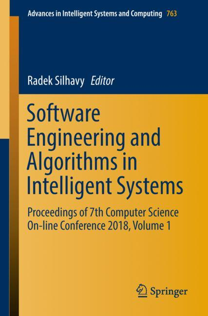 Cover of 'Software Engineering and Algorithms in Intelligent Systems'