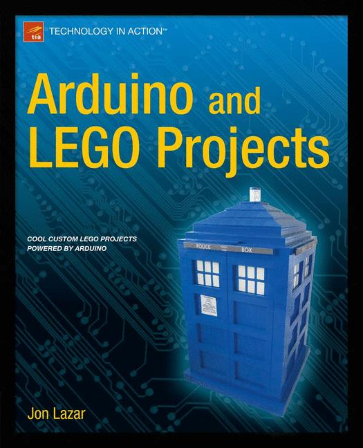 Cover of 'Arduino and LEGO Projects'