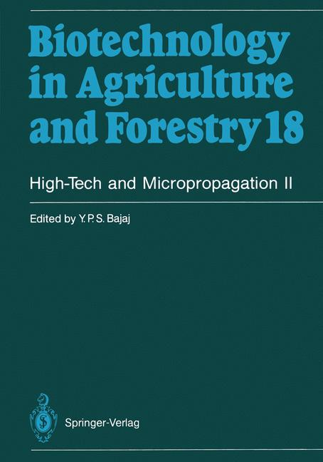 Cover of 'High-Tech and Micropropagation II'