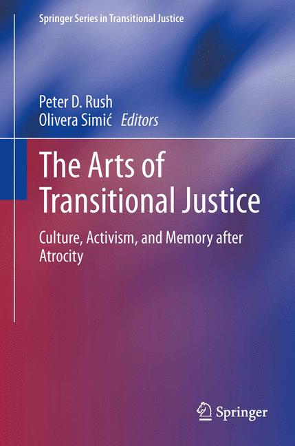 Cover of 'The Arts of Transitional Justice'