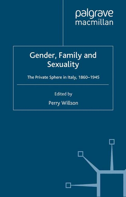 Cover of 'Gender, Family and Sexuality'
