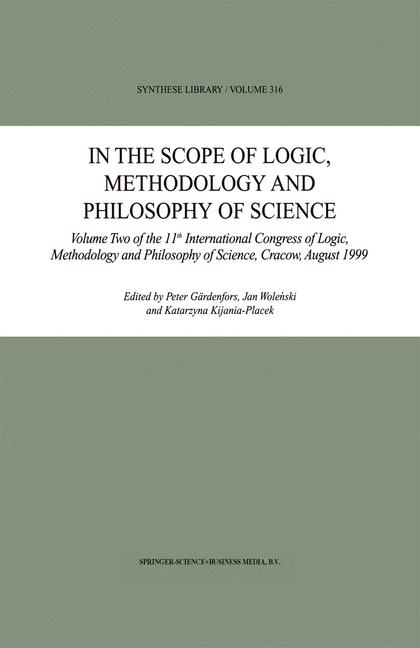 Cover of 'In the Scope of Logic, Methodology and Philosophy of Science'