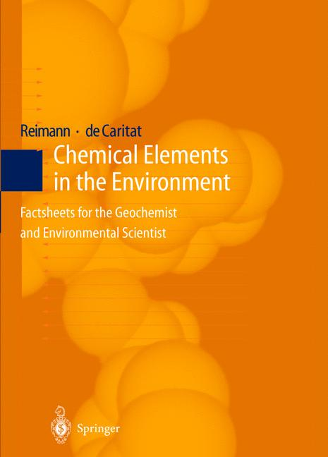 Cover of 'Chemical Elements in the Environment'