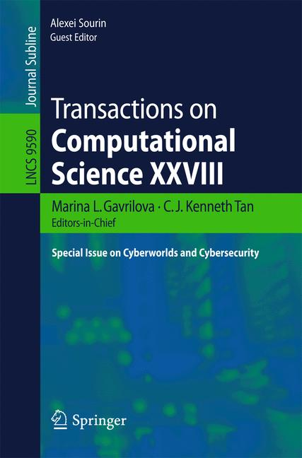 Cover of 'Transactions on Computational Science XXVIII'