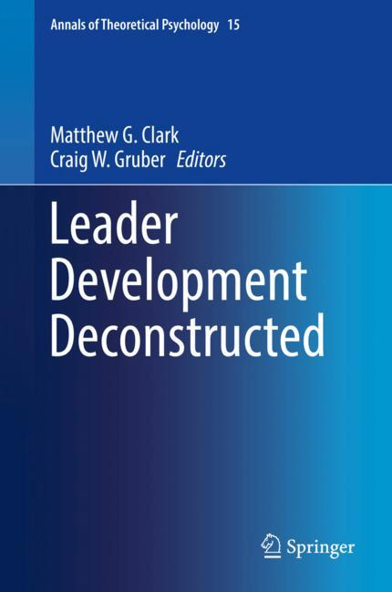 Cover of 'Leader Development Deconstructed '