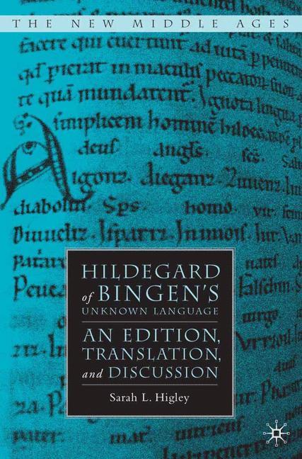 Cover of 'Hildegard of Bingen's Unknown Language'