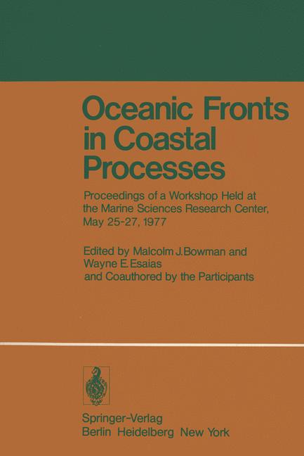 Cover of 'Oceanic Fronts in Coastal Processes'
