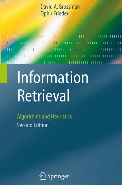 Cover of 'Information Retrieval'