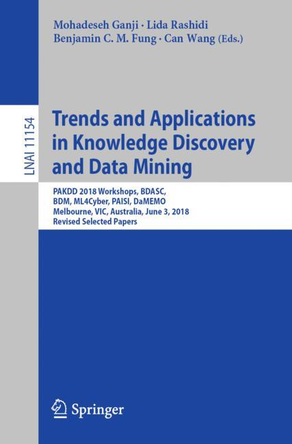 Cover of 'Trends and Applications in Knowledge Discovery and Data Mining'