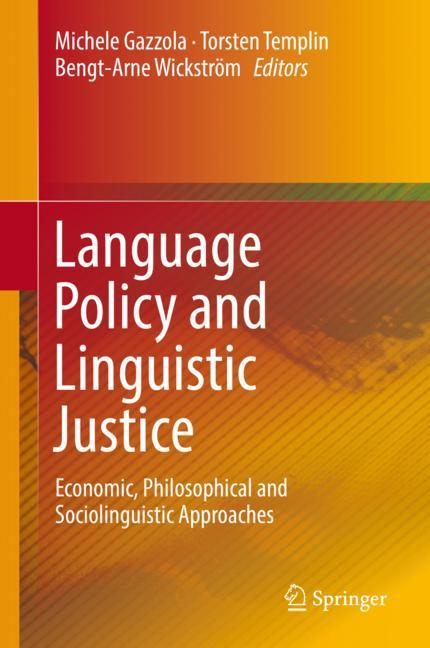 Cover of 'Language Policy and Linguistic Justice'