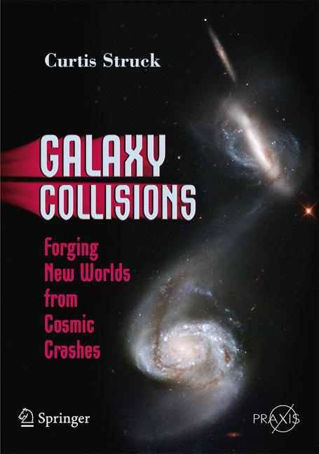 Cover of 'Galaxy Collisions'