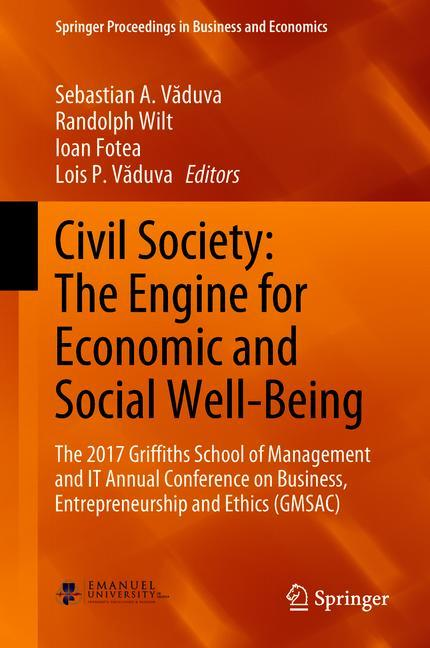 Cover of 'Civil Society: The Engine for Economic and Social Well-Being'