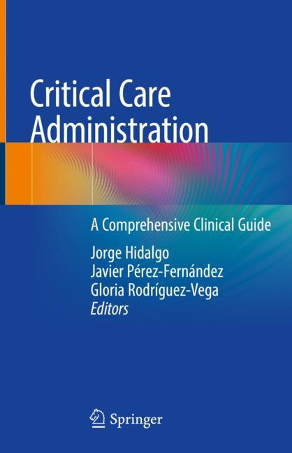 Cover of 'Critical Care Administration'