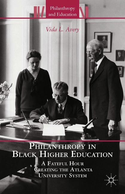 Cover of 'Philanthropy in Black Higher Education'