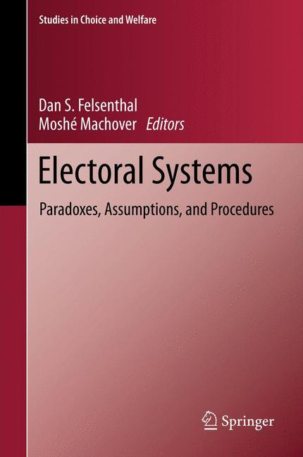 Cover of 'Electoral systems'