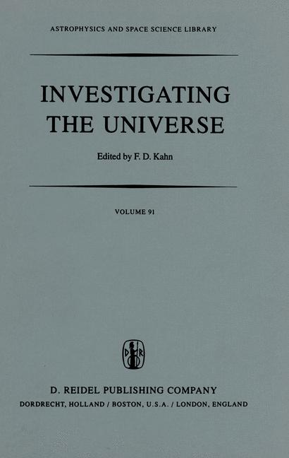 Cover of 'Investigating the Universe'