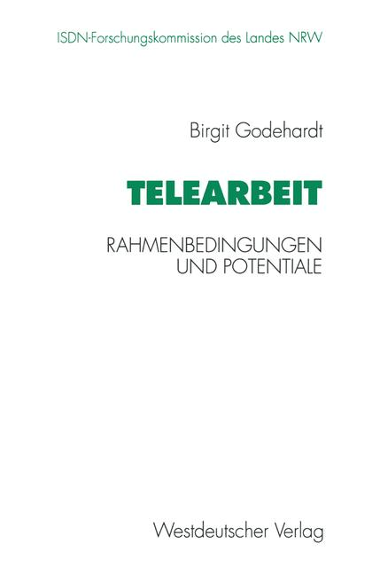 Cover of 'Telearbeit'